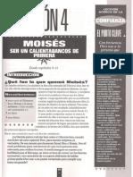 Moises - Un Calentabancas de Primera