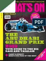 What's On | Abu Dhabi | November 2010