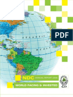 NDC - Annual Report 2008 - World Facing & Invested [St Lucia]