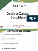 Módulo 6 - Diseño Zapatas