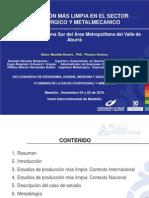 Ponencia de P+L (Congreso de Salud Ocupacional 2010