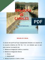 hidraulica de canales.metodo numérico