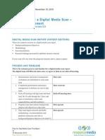 prep for digi media scan project management qrre