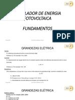 Modulo de energia Fotovoltaica