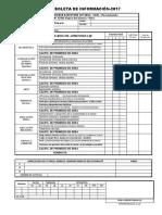 Boleta de Información 2016