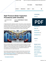 High-Pressure Boiler Inspection Procedures (With Checklist) - MPC