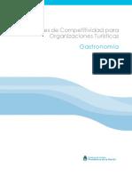 Directrices en Competitividad para Turismo Gastronomico