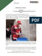 27-09-19 Llama Salud Sonora de manera urgente a limpiar patios y eliminar criaderos de moscos