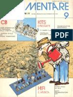 revista CB de eletronica 1977