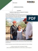 28-09-19 Restablecen energía eléctrica en Suaqui de la Candelaria