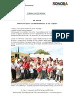 22-10-19 Abren nuevo espacio para atender a familias de Villa Pesqueira