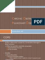 COPD Chronic Obstructive Pulmonary Disease