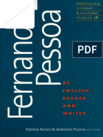 Fernando Pessoa - An English Reader and Writer