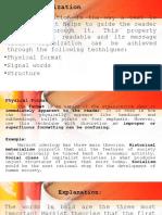EAPP Text Organization