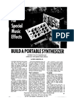 Do It Yourself Build a Portable Analog Synth