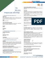 Imprimante Sellador Acrilico Premium Anypsa