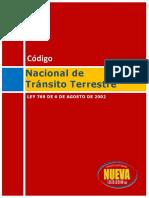 Codigo Nacional de Transito_2002