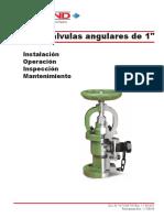 Manual de Válvula Angular Midland