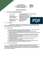 Project Proposal Technolympics 2019