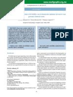 tratamiento minimo invasivo en inestabilidad cronica d tobillo