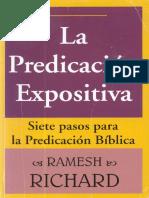 La Predicación Expositiva Ramesh Richard