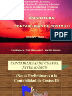 Contabilidad de Costos II (Argentina)