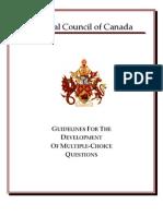 MCQ Guidelines e