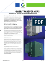 SMALL POWER TRANSFORMERS Crompton Greaves Power Systems
