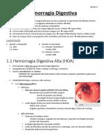 Resumo de Hemorragia Digestiva