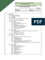 Serso-pets-0101 Modificacion e Instalacion de Chute de Descarga en Faja Transportadora