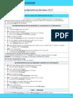 a1 Grammaire Prc3a9positions de Lieu