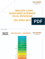 Diapistivas Auditor Interno ISO 27001