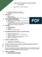 Esquema de Presentación Del Proyecto de Investigación (1)