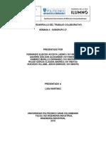 Informe Desarrollo Del Trabajo Colaborativo Calculo I- Semana 4 - SUBGRUPO 37