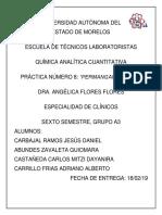 Reporte 8 Quimica Analítica