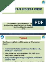 Peminatan Peserta Didik_BIMTEK BK 2017