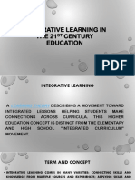 Integrative Learning in the 21st Century Education.pptx