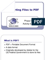 P1 SP 6.6 Converting Files to PDF.ppt