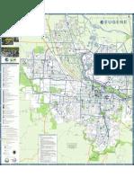 Eugene Bike Map 2010