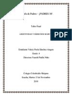Escuela de Padres Taller Final Asertividad y Derechos Basicos..