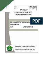 To Big Mts Paket 1 Kanwil 2019