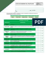 Formato Evaluación de Desempeño Del Practicante