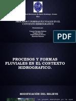 Procesos y Formas Fluviales