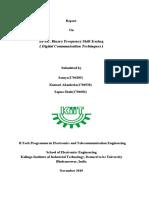 BFSk Report