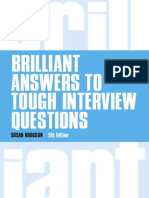 Brilliant Answers to Tough Interview
