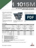 Deutzbfm1015 Specifications