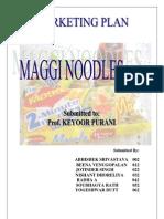 Maggi Noodles Marketing Plan