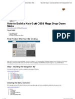 BuildaKick-ButtCSS3MegaDrop-DownMenu
