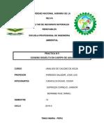 Informe 5 Aguas