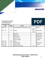 Materi Training KOMTRAC_general Info